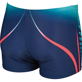 arena One Placed Print Bathing Trunk Men blue